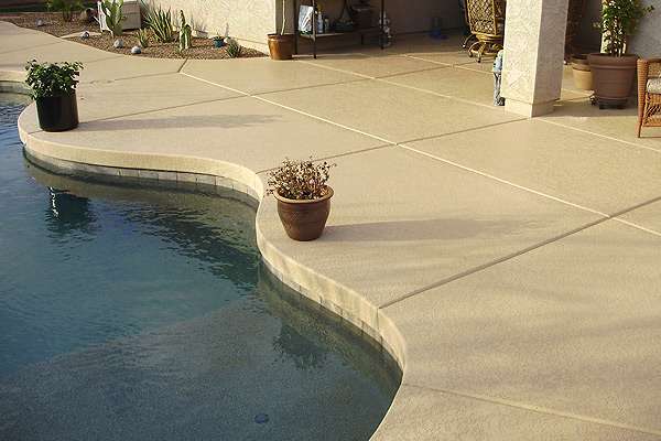 Imagine Architectural Concrete Installs Acrylic Decorative