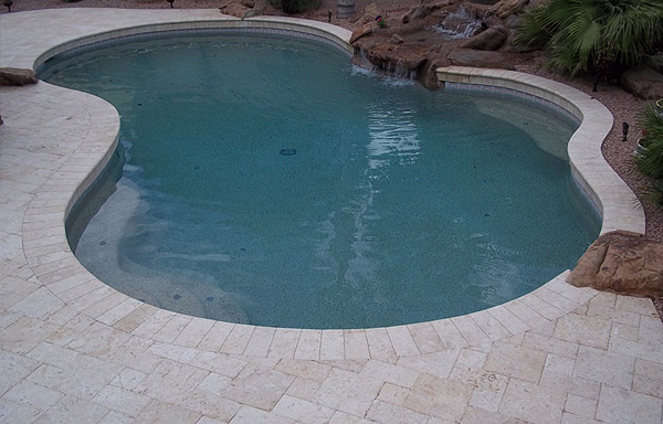 Marbella Stone Pool Deck