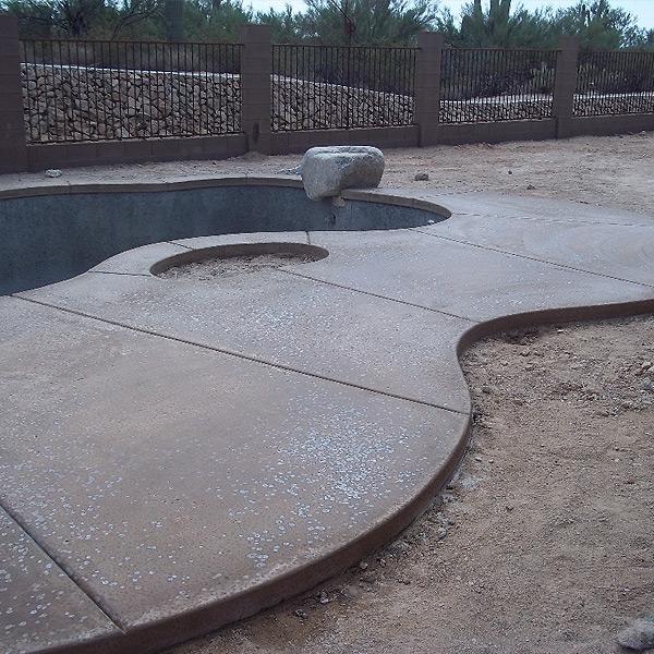 portfolio concrete salt finish imagine architectural concrete. Black Bedroom Furniture Sets. Home Design Ideas