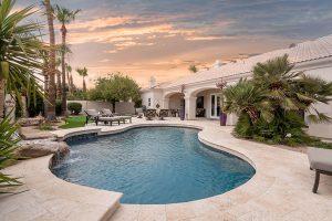 Marbella Stone Scottsdale Backyard Remodel