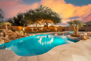 Limestone Pavers in Scottsdale, AZ