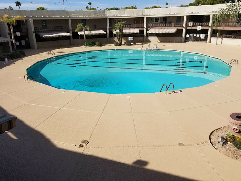 Sun City Recreation Center Pool Deck Remodel Imagine
