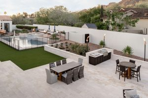 Marbella Stone Patio Remodel in Paradise Valley
